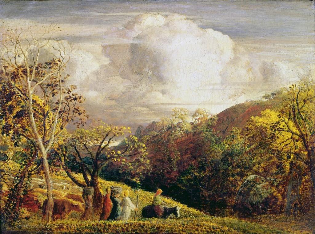 Samuel Palmer : The Bright Cloud (circa 1834)