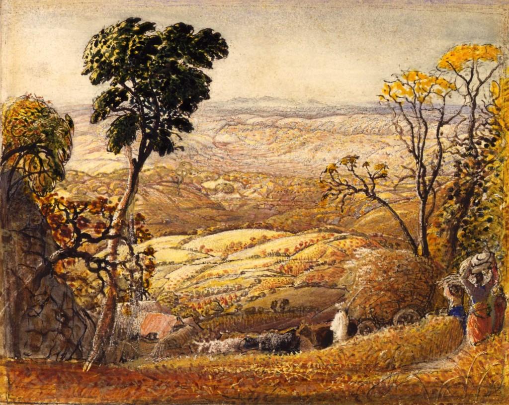 Samuel Palmer : The Golden Valley (1834-1835)